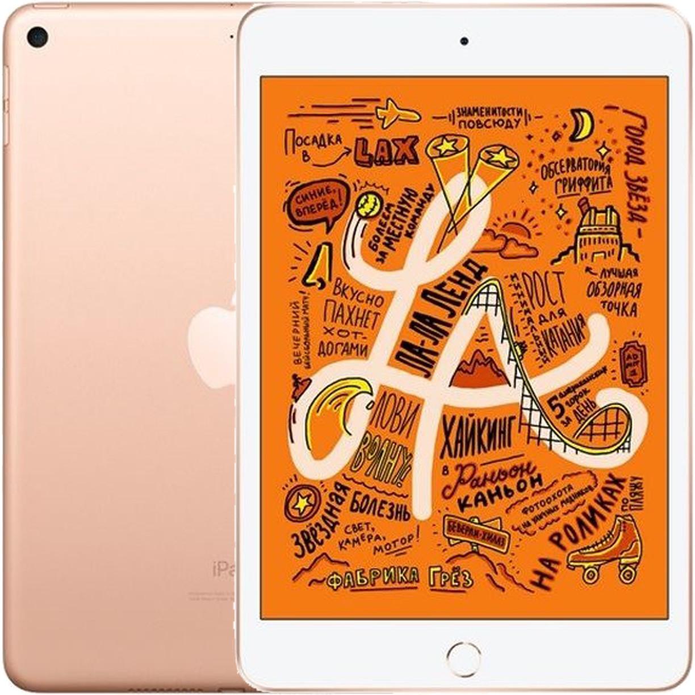 """Планшет Apple iPad Mini (5) 2019 7.9"""" Wi-Fi 256Gb Gold"""