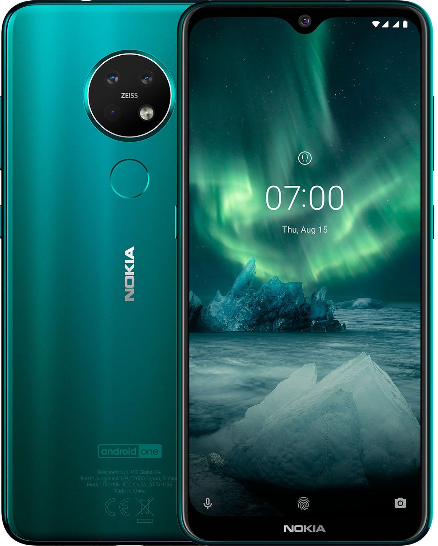 Смартфон Nokia 7.2 LTE 4Gb 64Gb Cyan