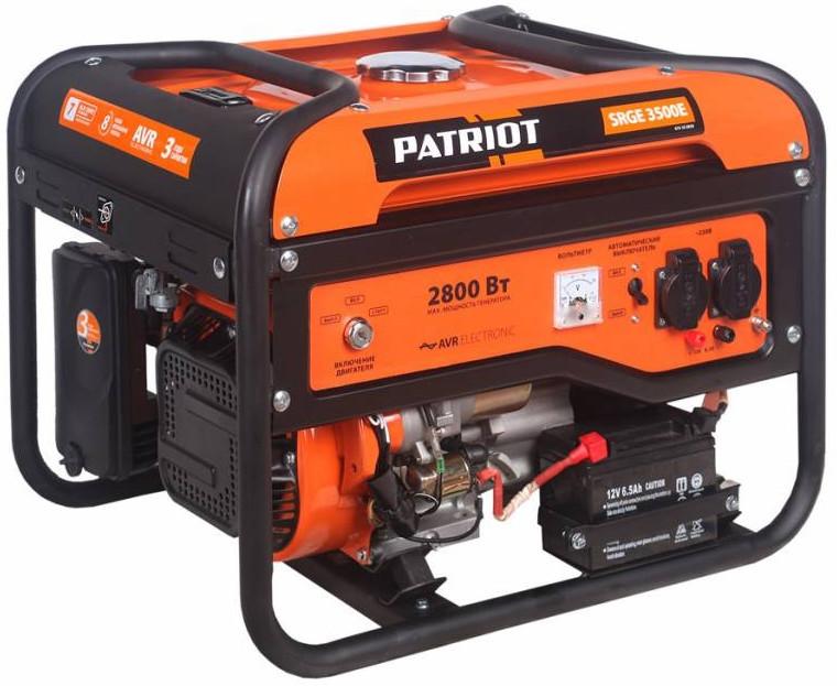 Электрогенератор Patriot SRGE3500E