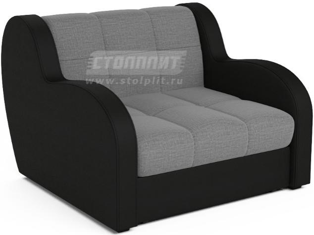 Кресло-кровать Столплит Боро серый 104x96x83 мм