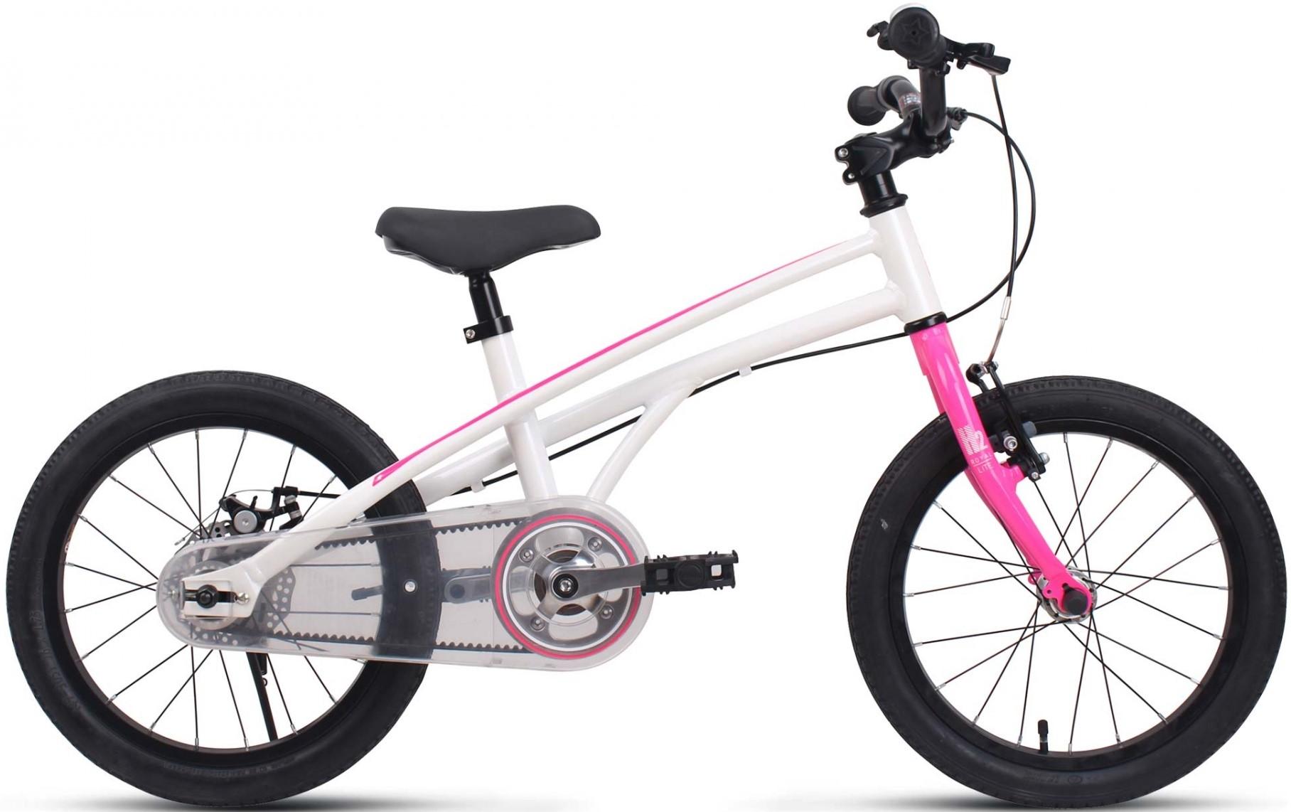 "Велосипед Royal Baby H2 All 14 бело-розовый 14"""