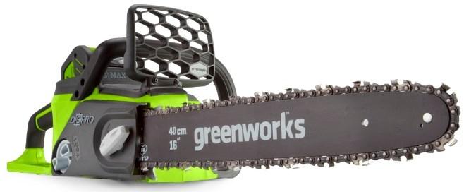 Электропила Greenworks GD40CS40