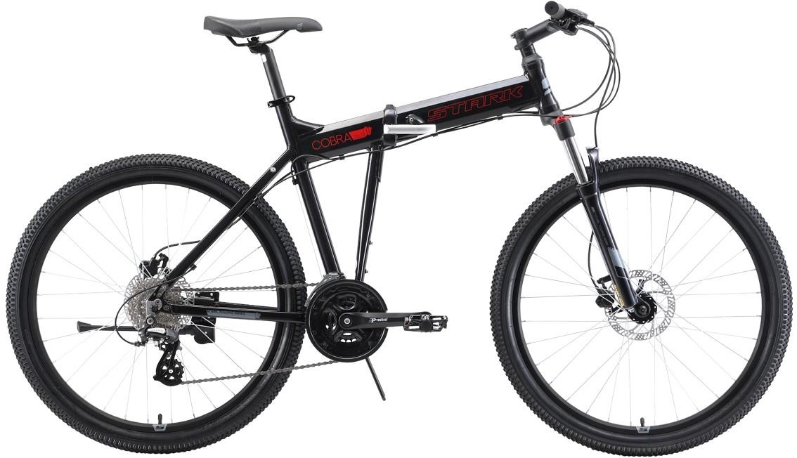 Велосипед Stark Cobra 26.3 HD (2019) чё…