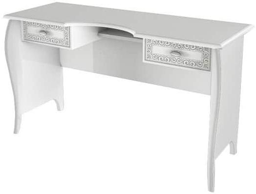 Туалетный столик Интердизайн Винтаж белый/белый 742x1264x462 см