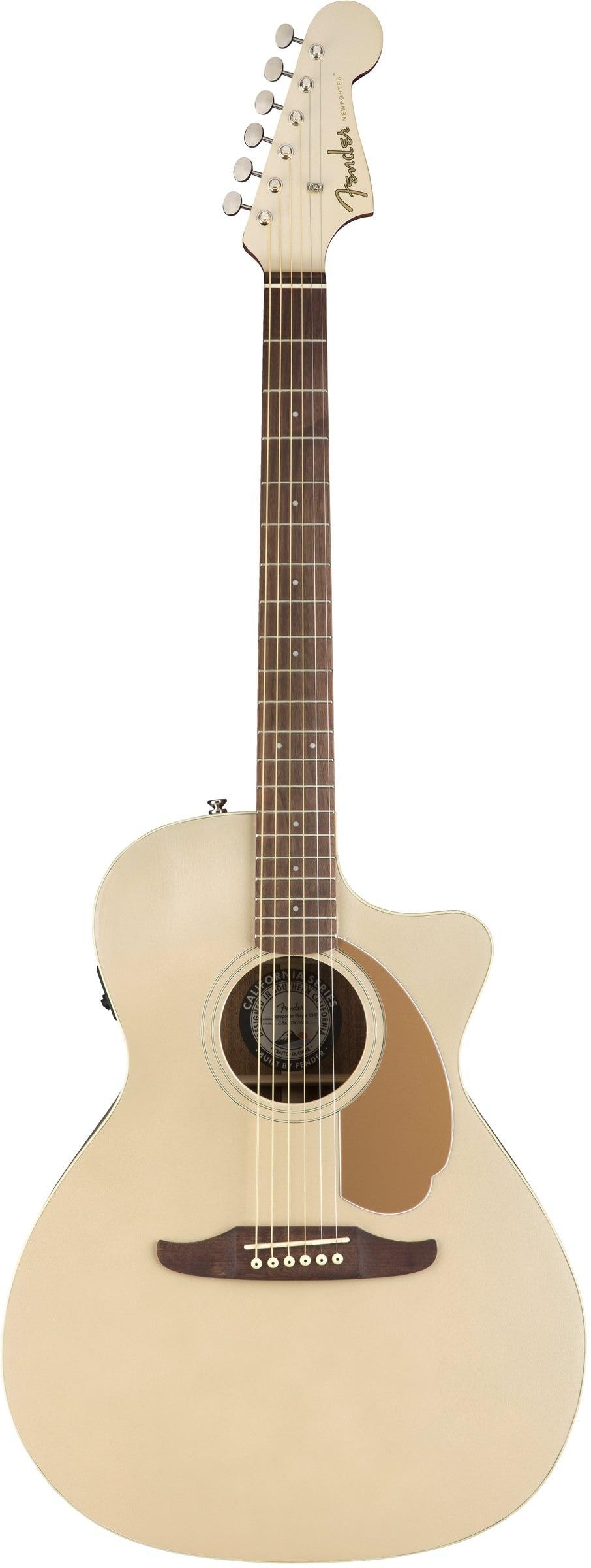 Акустическая гитара Fender Newporter Pl…