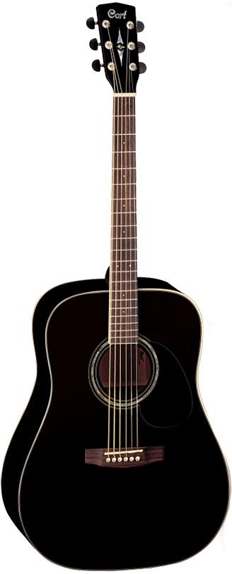 Акустическая гитара Cort Earth100-BK Ea…