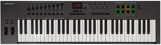 MIDI-контроллер Nektar Impact LX 61+