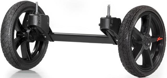 QUAD система для колясок Hartan Topline S, Xperia черно-оранжевый