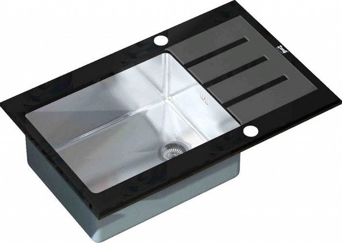 Кухонная мойка Zorg GL-7851 Black