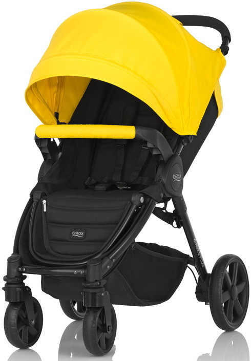 Коляска Britax B-Agile 4 Plus + капор Sunshine Yellow