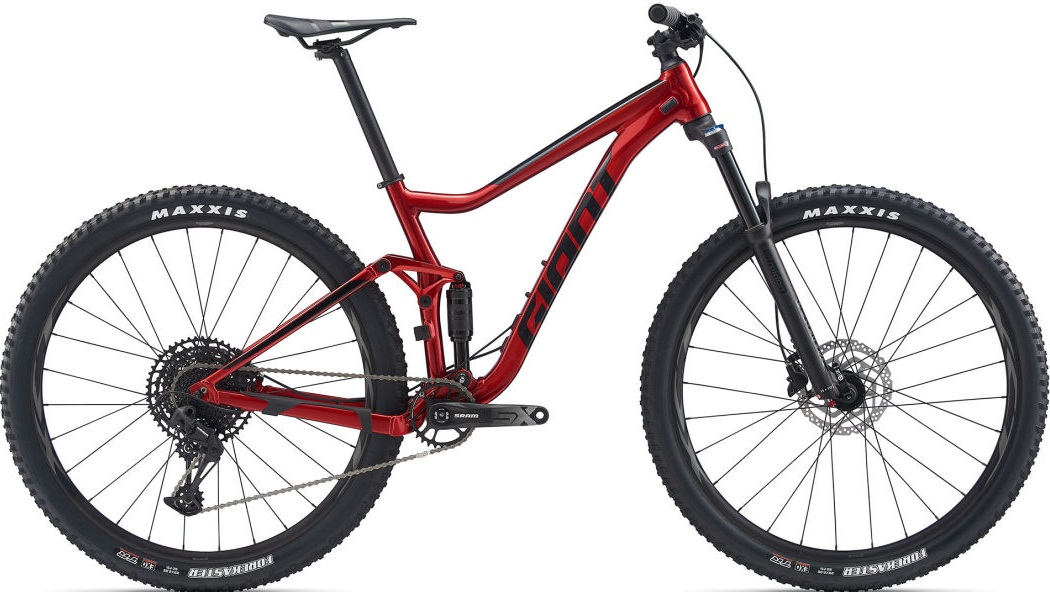 "Велосипед Giant Stance 29 2 (2020) Metallic Red 29""/M"