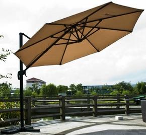 Зонт от солнца Афина-Мебель AFM-300/8k бежевый