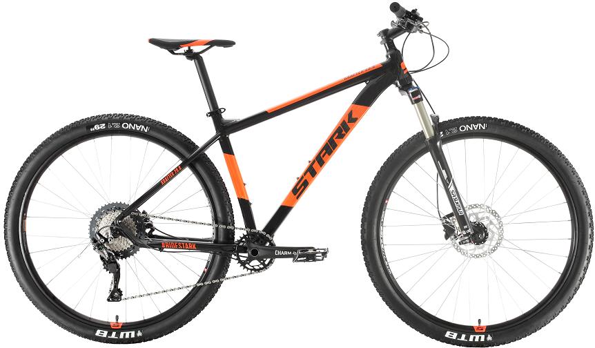 """Велосипед Stark Krafter 29.8 HD SLX (2020) черный/оранжевый 29""""/18"""""""