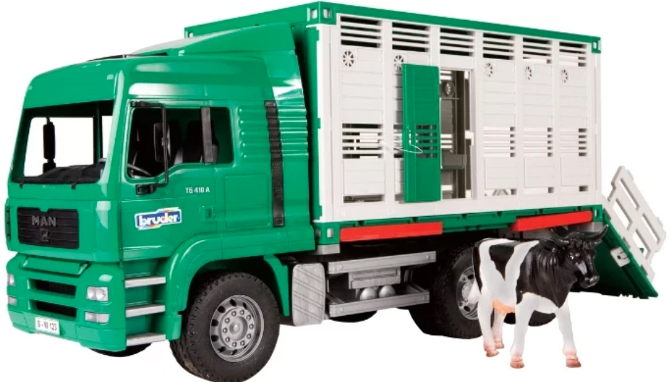 Фургон Bruder MAN 02-749 1:16 Green