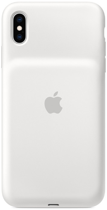 Чехол-аккумулятор Apple iPhone XS Max Smart Battery Case 1369 mAh White