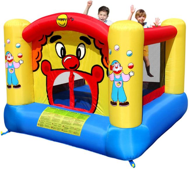 Надувной батут Happy Hop Веселый клоун