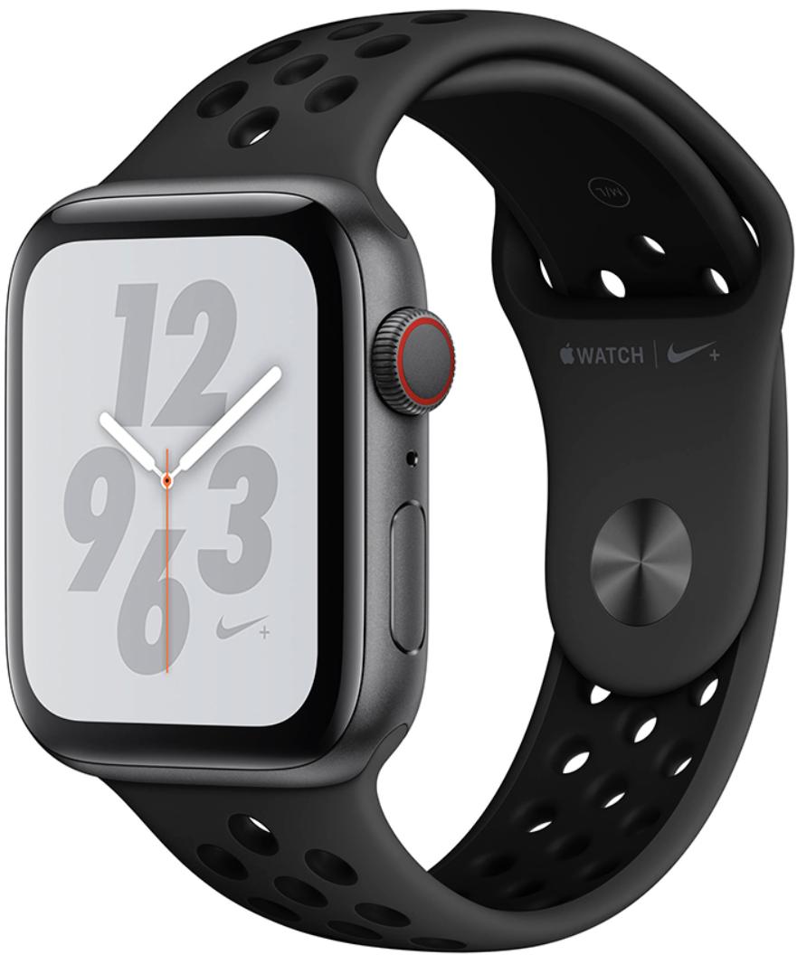 Умные часы Apple Watch Series 4 Nike+ Cellular 44mm MTXE2 Space Grey/Black