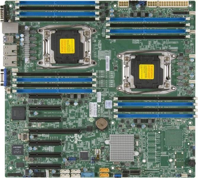 Материнская плата Supermicro X10DRH-I LGA 2011v3