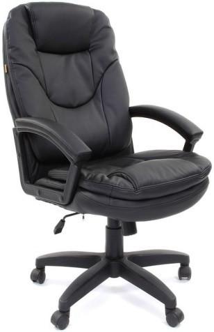 Кресло руководителя Chairman 668LT экокожа черный