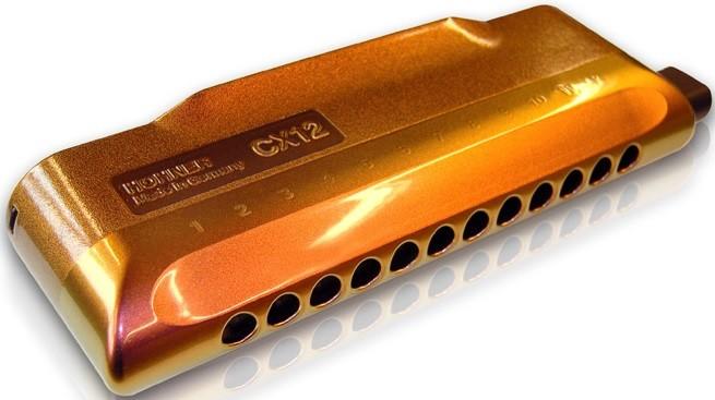 Губная гармошка Hohner CX 12 Jazz 7545/…