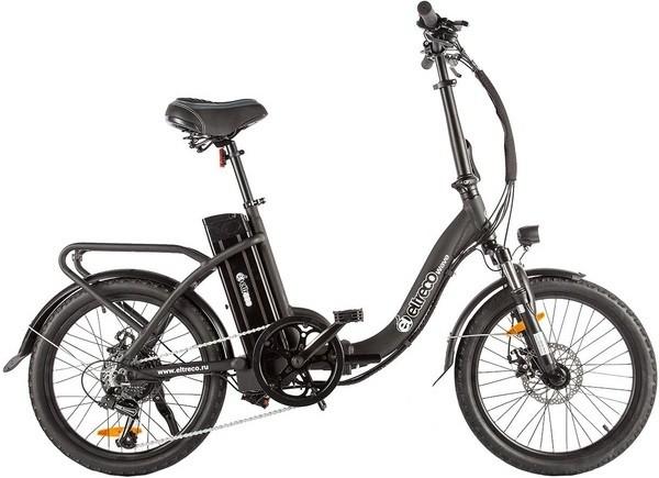 """Велосипед Eltreco Wave 350W Black 20"""""""