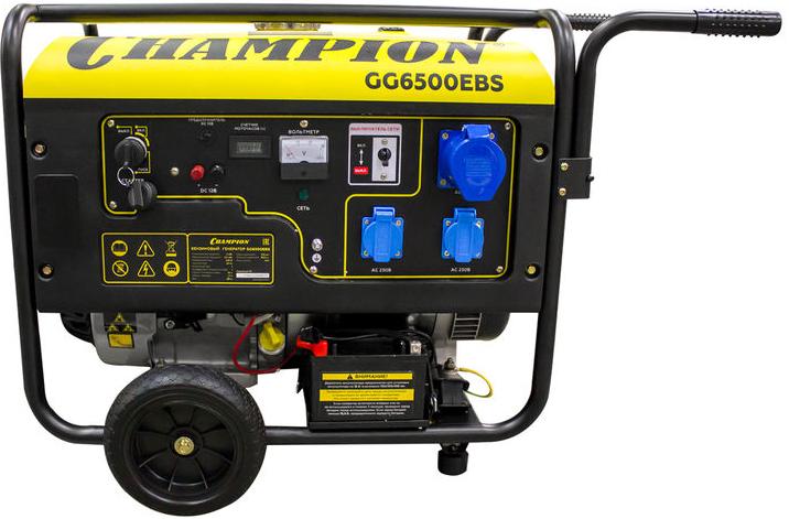 Электрогенератор Champion GG6500EBS
