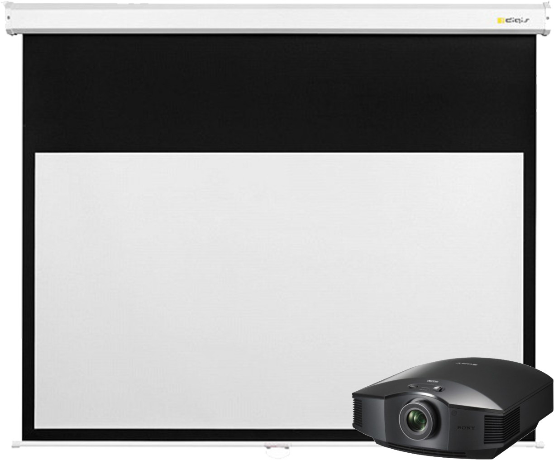 Проектор Sony VPL-HW45/B + Digis Space MW DSSM-163007 300x300