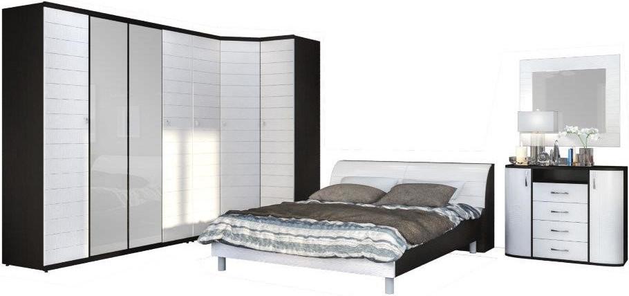 Спальня Столплит Гретта 420-607-091-4501 дуб феррара/онденс