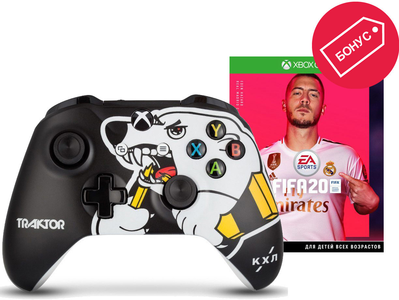 Геймпад Microsoft Xbox One КХЛ Трактор …