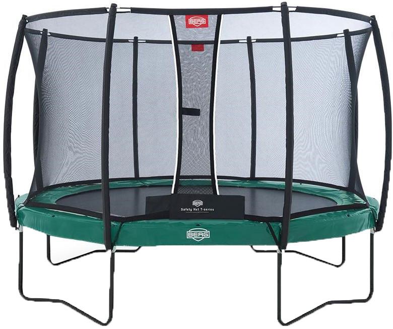 Батут Berg Elite 13FT Green (с внутренней сеткой T-series)