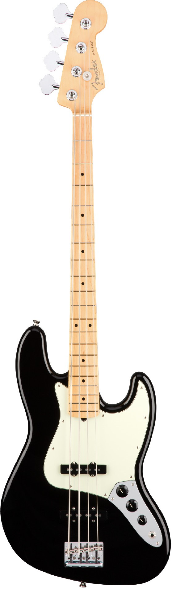 Бас-гитара Fender AM Pro Jazz Bass MN BK