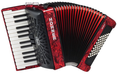 Аккордеон Hohner The New Bravo II 48 Red