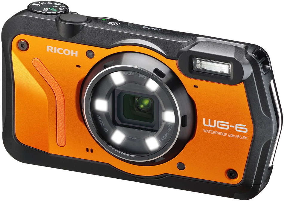 Фотоаппарат Ricoh WG-6 Orange