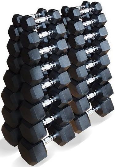Гантели Original FitTools 16 пар 1-25 кг