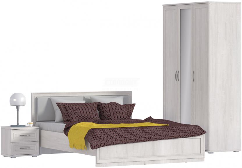 Спальня Столплит Флоренция 123-909-395-0000 дуб сонома белый