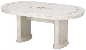 Кухонный стол Интердизайн Роза бежевый/бежевый 760x2320x1040 см