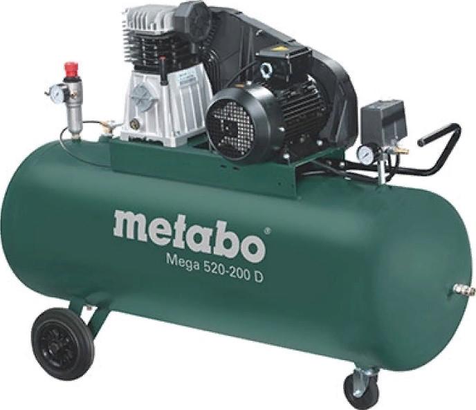 Поршневой компрессор Metabo Mega 520-200 D