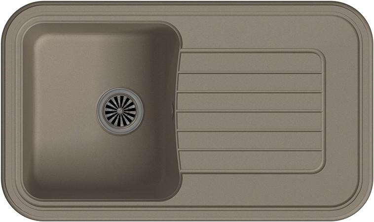 Кухонная мойка Ewigstein Antik А-60F темно-бежевый