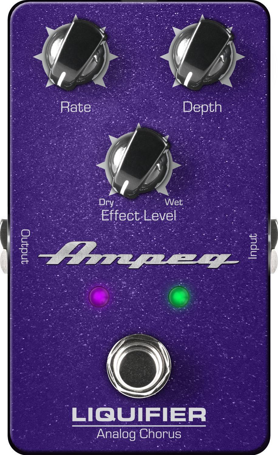 Педаль эффектов Ampeg Liquifier Analog Bass Chorus
