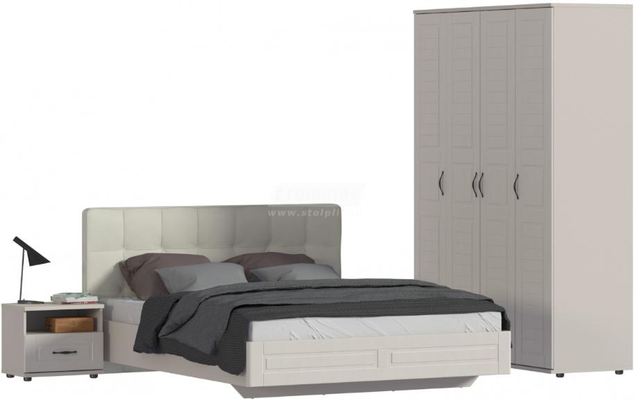 Спальня Столплит Сити 129-462-938-2943 бежевый песок/кофе