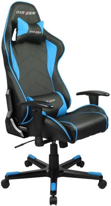Игровое кресло DXRacer OH/FE08/NB черный/синий