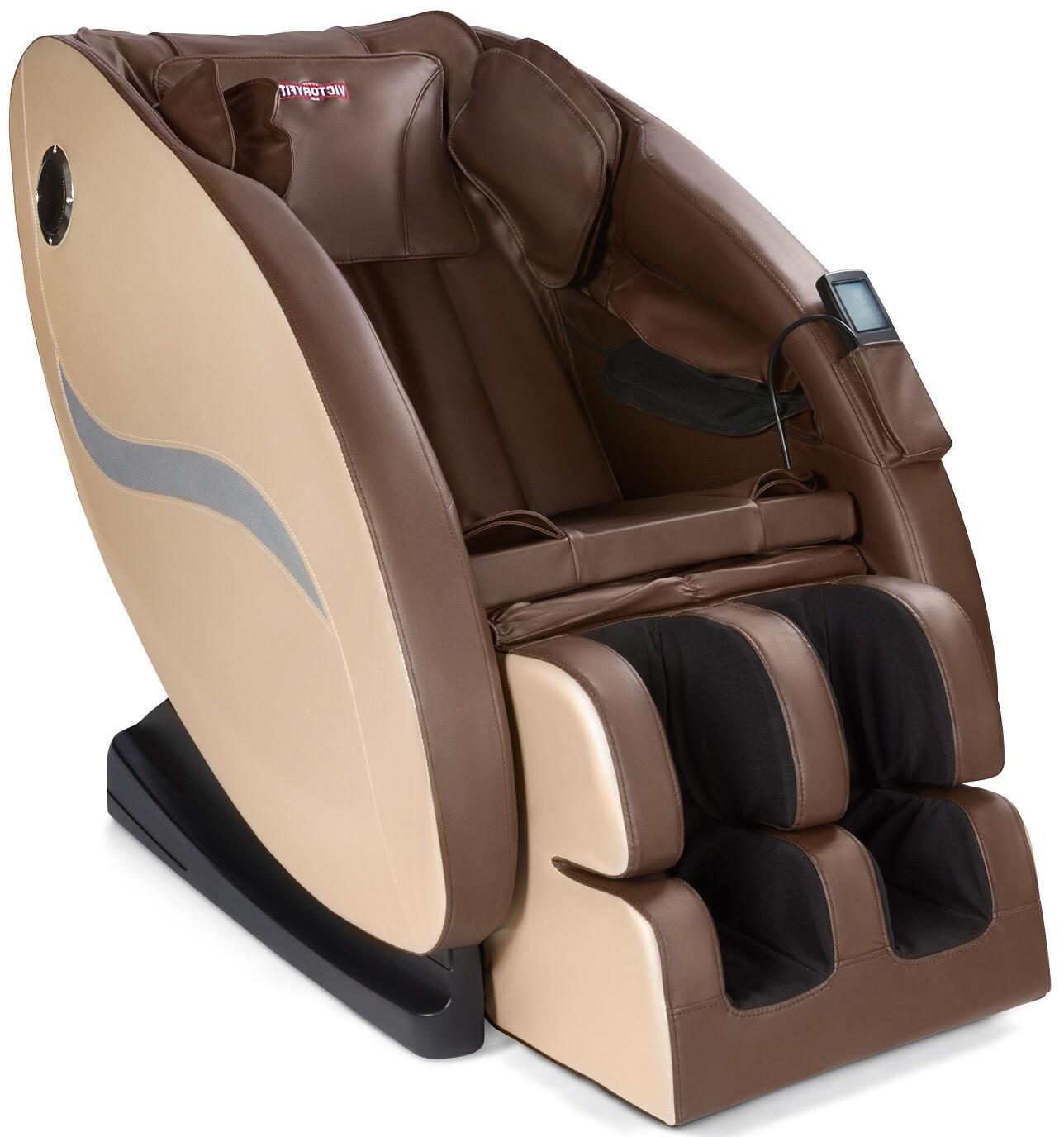Массажное кресло VictoryFit VF-M99 Brown/Beige