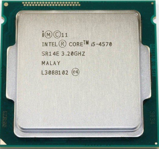 Процессор (CPU) Intel Core i5-4570 3.2GHz SR14E OEM