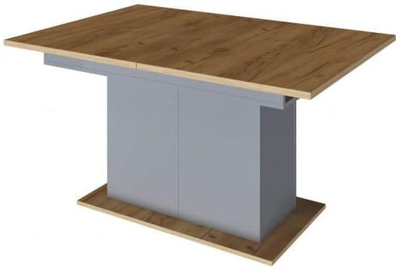 Кухонный стол Интердизайн 60.212.AN светло-коричневый/серый 760x2000x900 см
