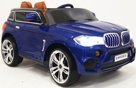 Электромобиль RiverToys BMW E002KX Blue Glanec