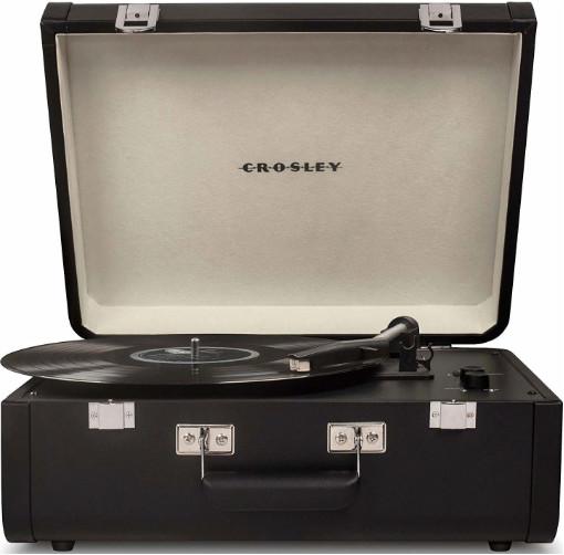 Проигрыватель Crosley Portfolio Portable CR6252A-BK