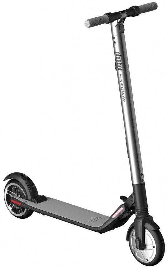 Электросамокат Ninebot KickScooter ES2 Black/Silver