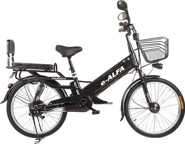 Электровелосипед Eltreco e-ALFA GL Matt…