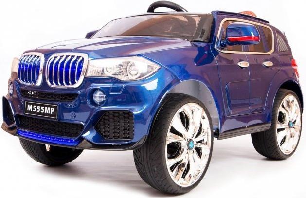 Электромобиль Barty BMW X5 M555MP Blue (кузов F-15 performance)