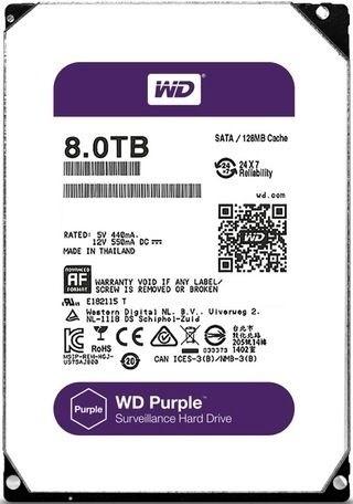 "Жесткий диск WD Purple 8Tb/HDD/3.5"""
